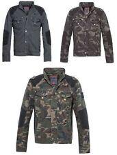 Vintage-Jacken im Militärstil