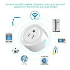 Mini Smart Socket Phone Remote Control Timer Switch Power WiFi Outlet US Plug