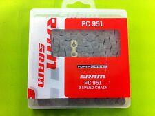 Catena SRAM PC 951 MTB/strada 9 velocità con Power Link Sram/Shimano compatibile