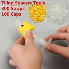 400 Tile Leveling System - 300 Straps + 100 Caos - Tile Leveler Spacer Lippage
