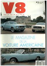 V8  N° 2 MUSTANG 67/CADILLAC ELDORADO '74/CORVETTE '84/CHRYSLER CD '34/STUDEBAKE