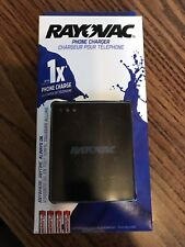 New Rayovac LED Fuel Gauge Micro USB Charger Mobile Device Smart w batteries