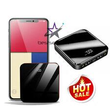 USA 900000mah Portable Power Bank LCD LED 2 USB Battery Charger For Mobile Phone