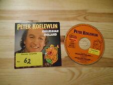 CD Schlager Peter Koelewijn - Hallelujah Holland (2 Song) DINO MUSIC