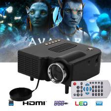 Mini Multimedia Portable LED Projector 1080P Home Theater USB HDMI AV VGA SD UK