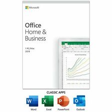 Microsoft Office 2019 Home and Business for 1 User Windows Pc/Mac Activation Key