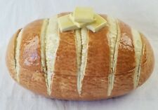 Hand Crafted Hawaii The Pottery buttered Bread Loaf Container Cookie Jar nice