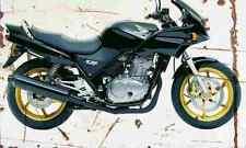 Honda CB500S 2001 Aged Vintage SIGN A4 Retro