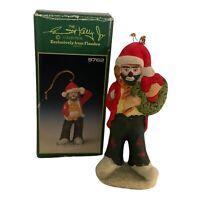 Emmett Kelly Jr Circus Clown Ornament #9766 Santa Signature Collection Flambro