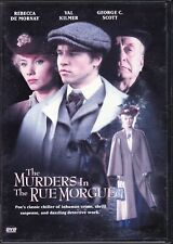 The Murders in the Rue Morgue George C. Scott Val Kilmer