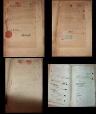 Straits Settlements document Hong Kong revenues 1921 British Consulate Japan