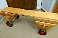 Vintage COMMUNITY PLAYTHINGS Wooden Teeter Trotter