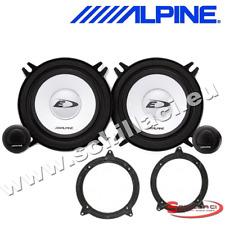 """ALPINE BMW 3 SERIES E46 98-05 5.25"""" 13cm  Component Front Door Car Speakers"""