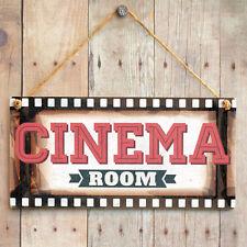 Cinema Room - Film Frame Home Theatre Sign. Gift For Dad, Kids, Man Cave, Den