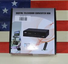 NAXA NT-52 Digital/Analog TV Television Converter Box USB HDMI DTV Output 1080P