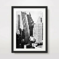 NEW YORK CITY ANTIQUE CITYSCAPE PHOTOS ART PRINT POSTER Home Decor Wall Picture