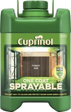 Cuprinol  5 Litre Spray Fence Treatment Paint - FOREST OAK
