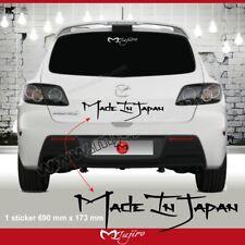 4024 sticker MADE IN JAPAN MAZDA 2 3 6 MPS aufkleber adesivi pegatina