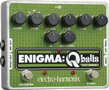 EHX Electro Harmonix Enigma Q Balls Bass Guitar Envelope Filter Effects Pedal