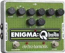 EHX Electro Harmonix Enigma Q Balls Bass Guitar Envelope Filter effetto pedale