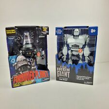 Iron Giant & Robby the Robot Walking Talking light up figures Walmart Exclusive