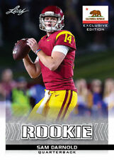 SAM DARNOLD 2018 LEAF EXCLUSIVE CALIFORNIA STATE FLAG ROOKIE CARD! USC TROJANS!