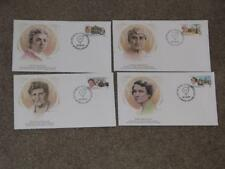 Famous Women of Canada FDC`s, cachets by Fleetwood