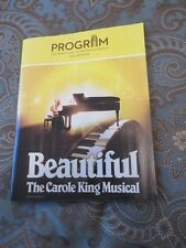 BEAUTIFUL CAROLE KING MUSICAL PLAY AT SMITH CENTER IN LAS VEGAS PROGRAM NEW