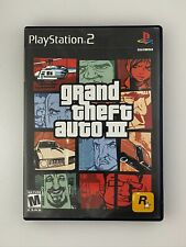 New listing Grand Theft Auto Iii - Playstation 2 Ps2 Game - Tested