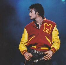 Michael Jackson Thriller M Logo Varsity Jacket for Men