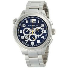 Nautica N29524G OCN 46 Blue Dial Stainless Steel Bracelet Men's Watch
