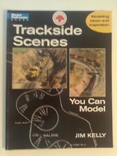 Kalmbach Book Trackside Scenes Model Railroader Book By Jim Kelly ITEM # 12234