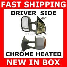 MIRROR FORD TRUCK PICKUP EXCURSION SUV Driver Side CHROME HEATED SIGNAL