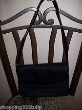 Apostrophe Black Nylon Handbag/Purse/Bag/Tote