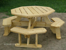 Octagon Picnic Table Plans--Easy to do!!