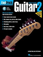 FastTrack Guitar Method Book 2 - Music Instruction Book and Audio New 000697286