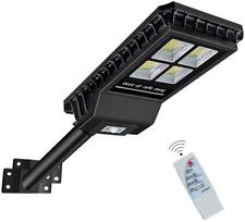New listing RouKid Solar Street Light Outdoor 432 Leds Ip65 55000mAh Dusk to Dawn Bright
