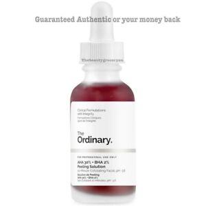 The Ordinary AHA 30% + BHA 2% Peeling Solution 30ml 100% Authentic w/ receipt