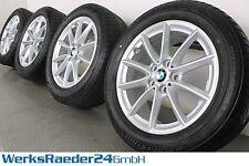 Original BMW X1 F48 17 Zoll Alufelgen 560 V-Speiche Winterräder RDCi RFT FF10