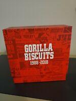GORILLA BISCUITS x SUPER 7 30TH YEAR ANNIVERSARY BOX SET RED NYHC EDGE HARDCORE
