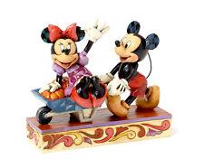 "DISNEY TRADITIONS ""Harvest"" NEU/OVP Mickey & Minnie Kürbis Ernte Figur 4039067"