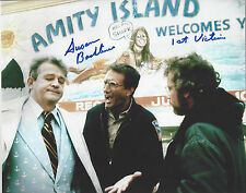 JAWS 1st Victim autographed 8x10 color photo (Chrissie) Amity Island Photo Bonus