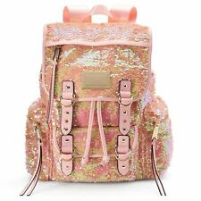 NWT Juicy Couture Large Pink Sequined Backpack