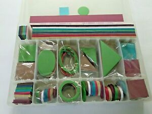 Geometric Card Stock Shapes Scrapbooking, Journal, Paper Crafts Lot