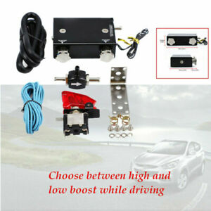 Dual Stage Electronic Turbo Mechanical Boost Controller PSI T-Valve Switch Kit