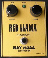 1995 WAY HUGE THE ORIGINAL RED LLAMA RL-2  SERIAL #4 Gold Jerry Finn Green Day