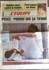 L'Equipe Journal 13/8/1993; Pérec en test/ prost/ Mellick/ Wallabies-Boks/ Eq Fr