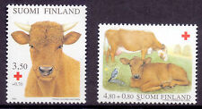 Red Cross Single Finnish Stamps