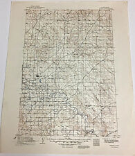 New Listing Newell South Dakota 1913 Edition Reprint 1950 Quadrangle Map