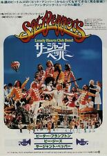 Sgt Pepper'S Lonely Hearts Club Band Japanese B2 movie poster Beatles Bee Gees